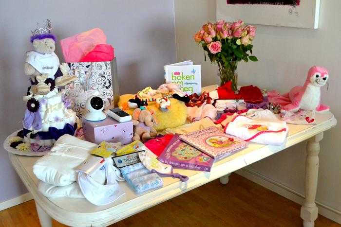 babyshower gave til mor